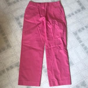 Brooks Brothers Size 2 bright Pink Cropped Pants